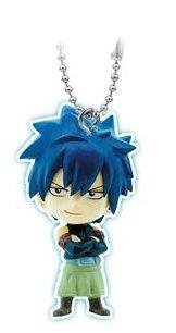 "Bandai Fairy Tail Gashapon Mascot Swing Key Chain Figure ~1.5"" - Gray Fullbuster - 1"