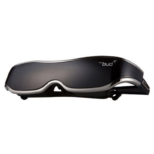 [Black + MHL Gender] ACCUPiX Mybud 3D Viewer HMD Glasses 100 inch Head Mount Display Virtual Screen