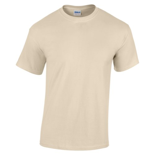 Gildan heavy T-shirt sand M (GD05)