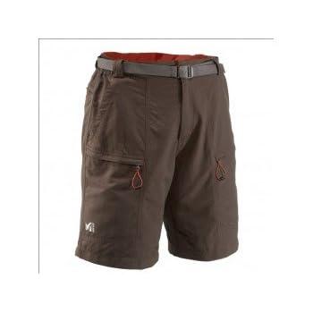 MILLET Globe trotter Short montagne homme miv4525 marron