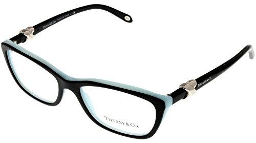 Tiffany & Co. Women Eyeglasses Designer Black Rectangular TF2074 8055 (Tiffany Frames For Women compare prices)