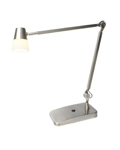 Adesso Vision LED Desk Lamp, Satin Steel
