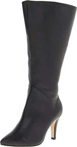 Image of Rose Petals by Walking Cradles Women's Portland Extra Wide Shaft,Black Softy Calf,US 5 M
