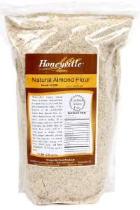 Natural Almond Meal Flour - 5 Pound Bag