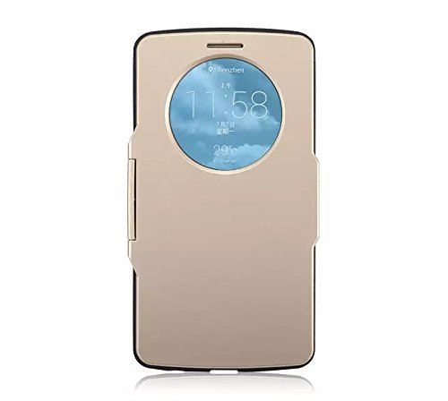 Queens Quick Circle Flip View Lg G3 Iii Case Cover Anti