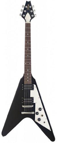 "Stagg F300-Bk ""Heavy F"" Standard Electric Guitar - Black"