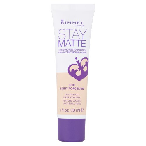 Rimmel Stay Matte, Fondotinta, Light Porcelain