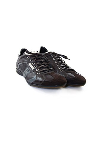Alexander Hotto leather sneakers dark brown 43