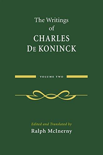 the-writings-of-charles-de-koninck-volume-2