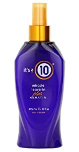 It's a 10 miracle leave -in Plus Keratin 10oz