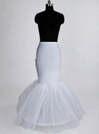 Sunvary Nylon Mermaid and Trumpet Gown Slip Style Wedding Petticoats