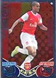 Match Attax 2010-11 Showboater Theo Walcott ARSENAL