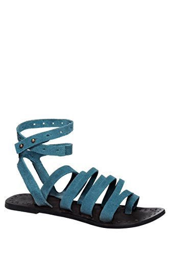 Sunever Strappy Gladiator Flat Sandal