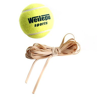 Zcltennis Ball With Rubber Rope For Training