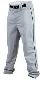 Rawlings Youth Baseball Pant (Blue Grey/Black, Small)