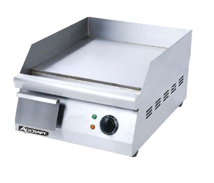 Adcraft Grid-16 Commercial 120V Electric Countertop Griddle