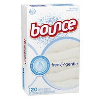 Bounce Fabric Softener Dryer Sheets Free & Gentle Unscented (Bounce Dryer Sheets Unscented compare prices)