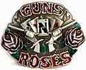 GUNS'N ROSES MUSIC ROCK 'N ROLL BAND GROUP BELT BUCKLE