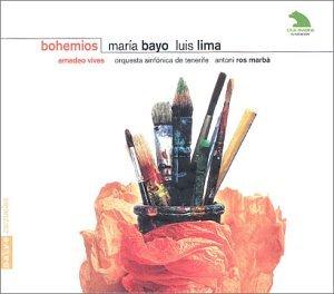 Bohemios (Mario Bayo-Luis Lima) -  Amadeo Vives - CD