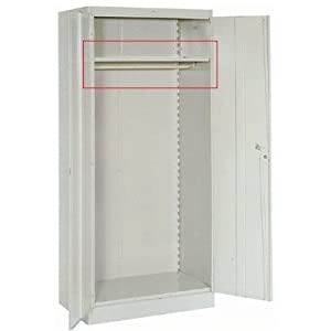 Lyon Workspace Products Extra Shelf with Coatrod for 36