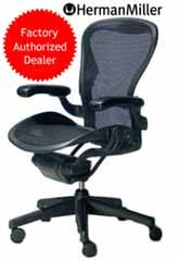 Aeron Desk Office Chair, Basic, Color - Carbon, Medium (B)