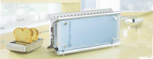russell hobbs 10617 56 glas toaster langschlitztoaster. Black Bedroom Furniture Sets. Home Design Ideas