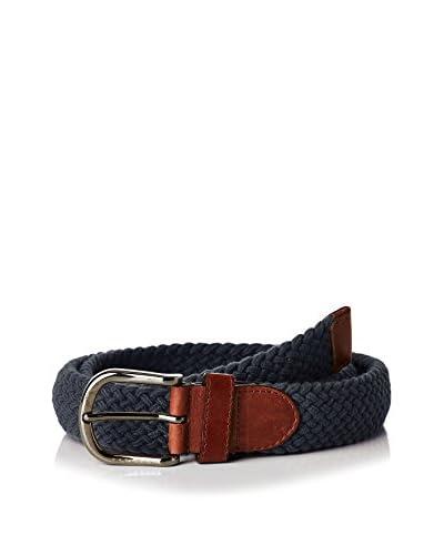 Caramelo Cinturón Azul Oscuro