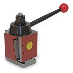 """Dorian Tool SDN Chromium Molybdenum Alloy Steel Super Quick Change Tool Post with Triple Action Locking System, >=25"""" Lathe Swing, 6"""" Square"""
