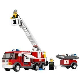 Lego City : Fire Truck Vehicle - 7239