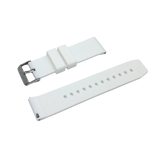 Replacement Watchband Strap for Basis Peak Ultimate Fitness and Sleep Tracker (White) (Basis Peak Strap compare prices)