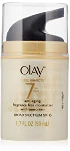 Olay Total Effects 7-in-1 Anti-Aging UV Moisturizer, SPF 15, 1.7 Ounce