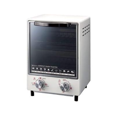 KOIZUMI 【縦型2段で場所をとらないスリム型】オーブントースター ホワイト KOS-1011/W