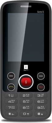 iBall 2.4 Sumo-G (Black-Green)