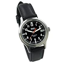 Weems and Plath Classic Navigator Watch 3005 Model (Black)