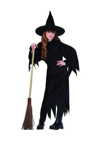 Velvet Witch With Hat