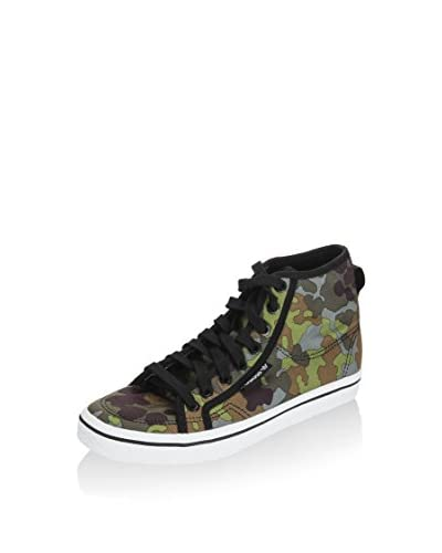 adidas Sneaker Alta Honey Mid W Verde Militare EU 38