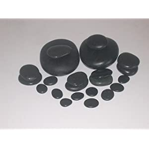 Personal Massage Stone Set Basalt Hot Rocks Stones