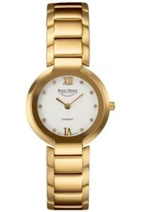 Bruno Soehnle Women's Quartz Watch Analogue Display and Stainless steel plated Strap 17-33077-932