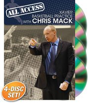 Chris Mack: All Access Xavier Basketball Practice (DVD) by Championship Productions