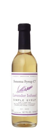Sonoma Syrup Lavender Simple Syrup 12.7 oz