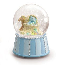 Russ Berrie My First Teddy Musical Waterglobe,