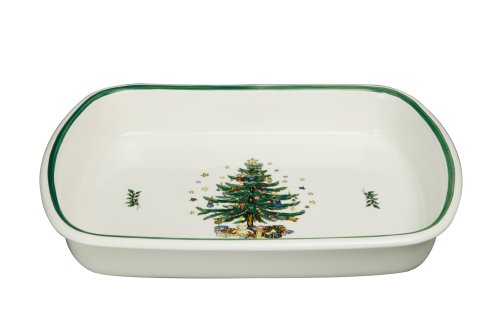 Nikko Christmas Ovenware Large Lasagne Baking Dish