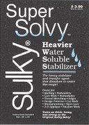Super Solvy Water Soluble Stabilizer By The Yard