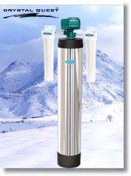 Crystal Quest Whole House Acid Neutralizing 1.5 Water Filter System