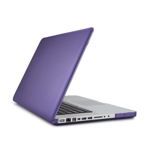 Speck Products See Thru Satin Case for MacBook Pro 15-Inch Aluminum Unibody Only, Aubergine (SPK-A0472)