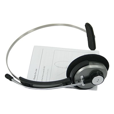 HDE Bluetooth Headset w/Mic for PS3