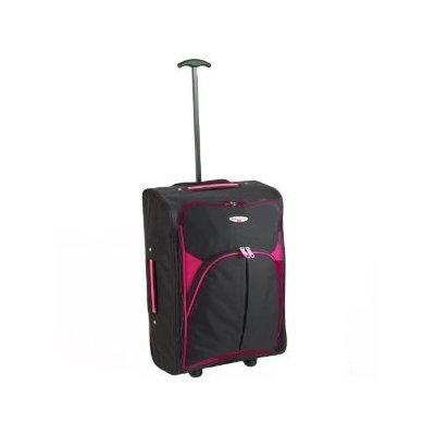Borderline 2 Wheeled Super Lightweight Hand Luggage Holdall Cabin Bag Suitable For Easy Jet, Jet2, Ryanair, Monarch, First Choice, British Airways, Thompson from Borderline