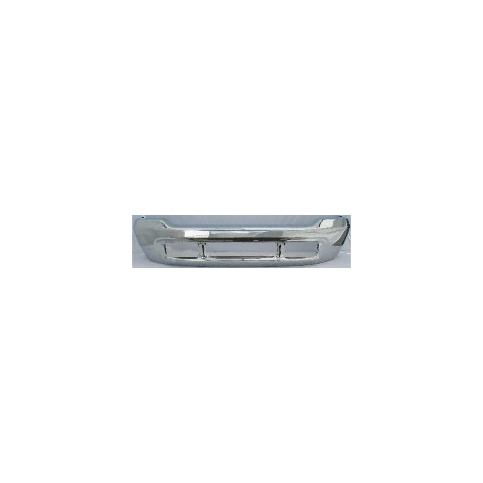 01 02 FORD F550 SUPER DUTY PICKUP f 550 FRONT BUMPER CHROME TRUCK, w/ BFT Sport Model Only (2001 01 2002 02) F010903 1C3Z17757EAA