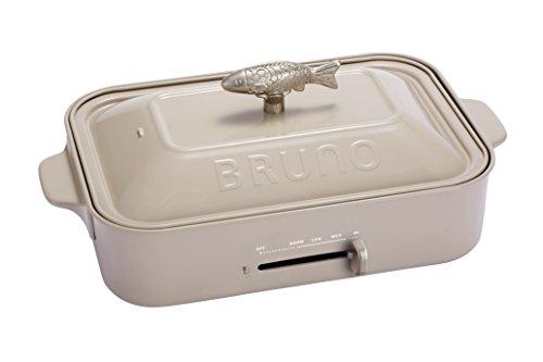 BRUNO コンパクトホットプレート BOE018-GRG グレージュト BOE018-GRG
