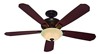 """Hunter H21711 Grant Park 60"""" New Bronze Ceiling Fan with Light"""